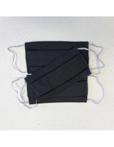 Masque d'hygiène deux couches en Coton BIO, fabriqué en France - Taille adulte 5,00€ -15%