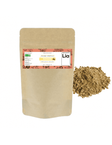 Poudre de banane bio - 100 g 9,00€ -15%