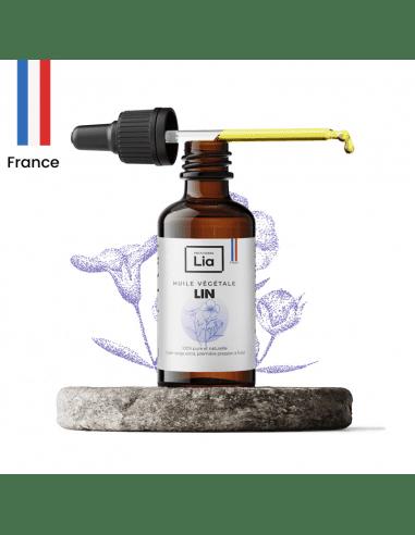 Huile végétale : Lin - 100 ml 7,90€ -15%