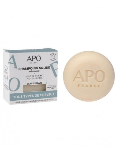 APO - Shampoing solide tous types de cheveux 8,00€ -15%