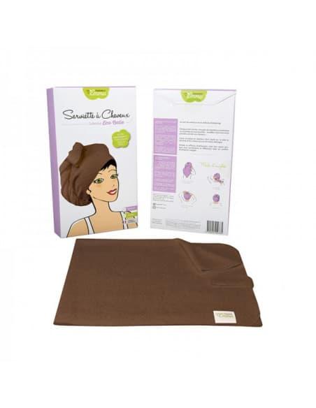 Serviette à cheveux Bambou Chocolat 17,90€ -15%
