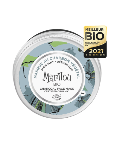 Masque visage Bio au charbon végétale - 75 ml 12,50€ -15%