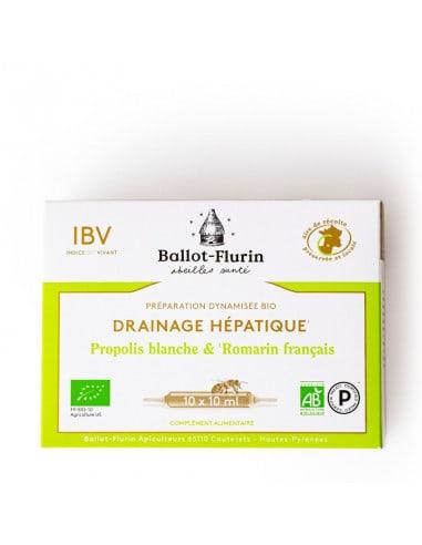 Préparation dynamisée bio Drainage Hépatique 17,95€ -15%