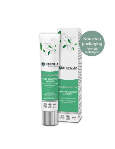 Fluide régulateur matifiant - Centifolia 13,95€ -15%