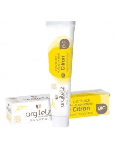 Dentifrice citron BIO - 75 ml