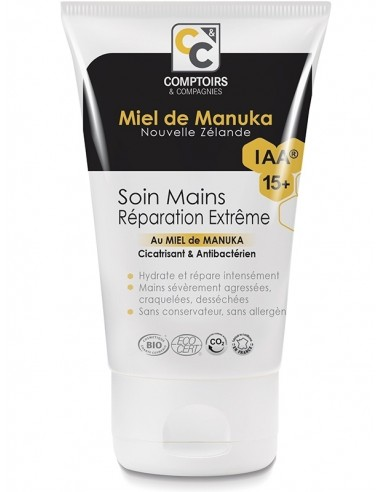 Soins pour les mains réparateur au miel de Manuka IAA15+ 7,50€ -15%