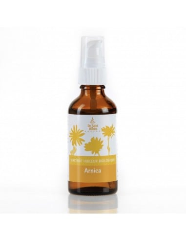 Huile végétale : Arnica bio - macérât huileux 50 ml 6,50€ -15%