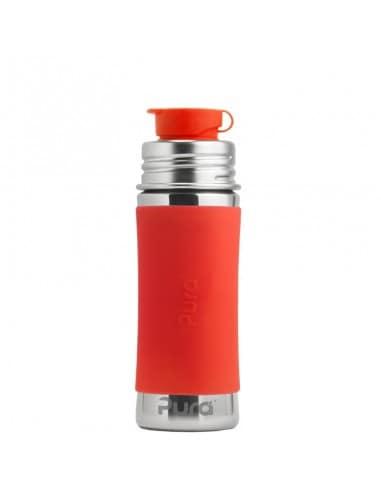 PURA ISOTHERME - Gourde en acier inoxydable - Embout sport - 260 ml - Orange 25,90€ -15%